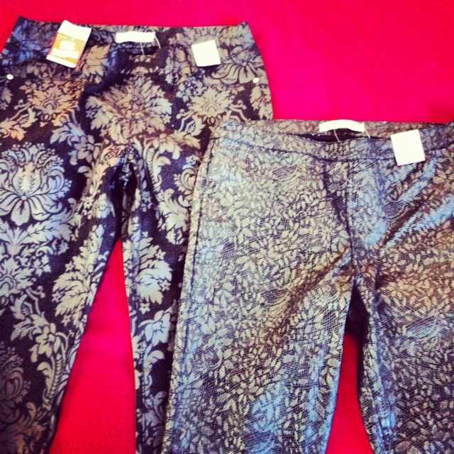 My favourite are the ones on the right with the snakeskin-y print.