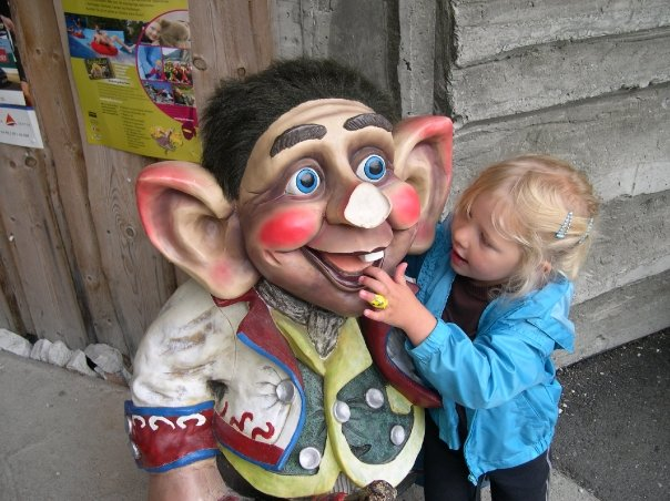 A huggable troll in Norway.