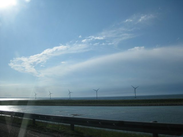 The Oresund Bridge which takes me home to Malmö and home to Cape Town.