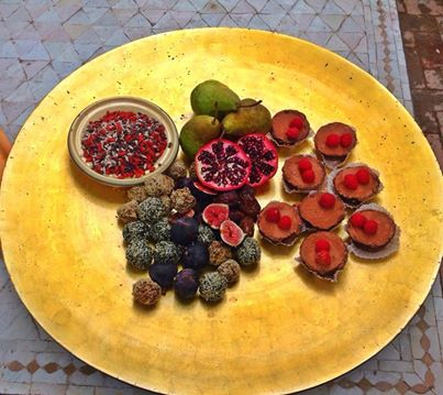Raw superfood desserts.