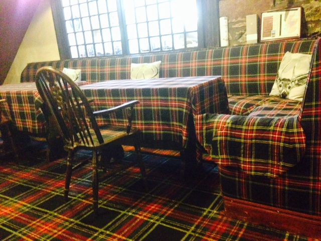 Very, very much tartan.